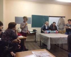 Фотоотчет. Игра с хлопком. «Куртка или пальто с хлопковыми фактурами» Ирины Бобковой.