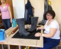Фотоотчет о мастер классе по изготовлению ботильонов.