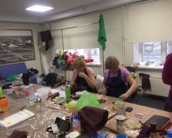 Фотоотчет о мастер классе «Элегантные сапожки из войлока» Мармаруни в г. Челябинск.