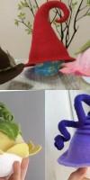 Отчет о Мастер-класс «Изготовление детских шляп и шапочек». Мастера Трошкова Юлия и Оберюхтина Марина>