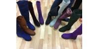 12 и 18 сентября 2019 г. - Валяная обувь- свобода выбора (Сапоги, кеды, кроссовки, ботинки, туфельки...) Мармаруни (Мария Иванова)