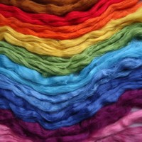 Шелковые волокна, коконы