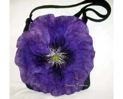 Фиолетовый мак