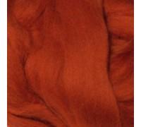 Австралийский меринос 18 мк., 50 гр. Италия. Цвет - Ржавчина